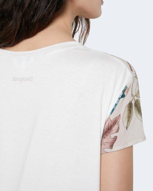 T-shirt Desigual EDIMBURGO Bianco - Foto 4
