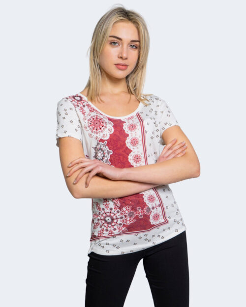 T-shirt Desigual ESTAMBUL Bianco - Foto 1