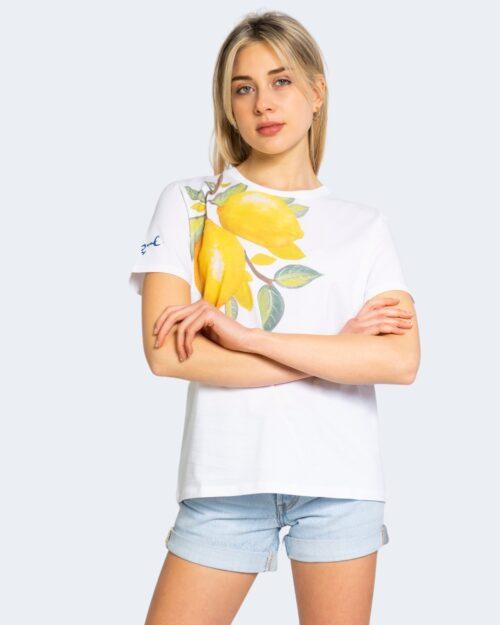 T-shirt Desigual LEMONS Bianco - Foto 1