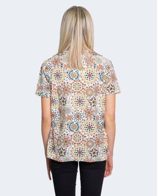 T-shirt Desigual LYON Bianco - Foto 2