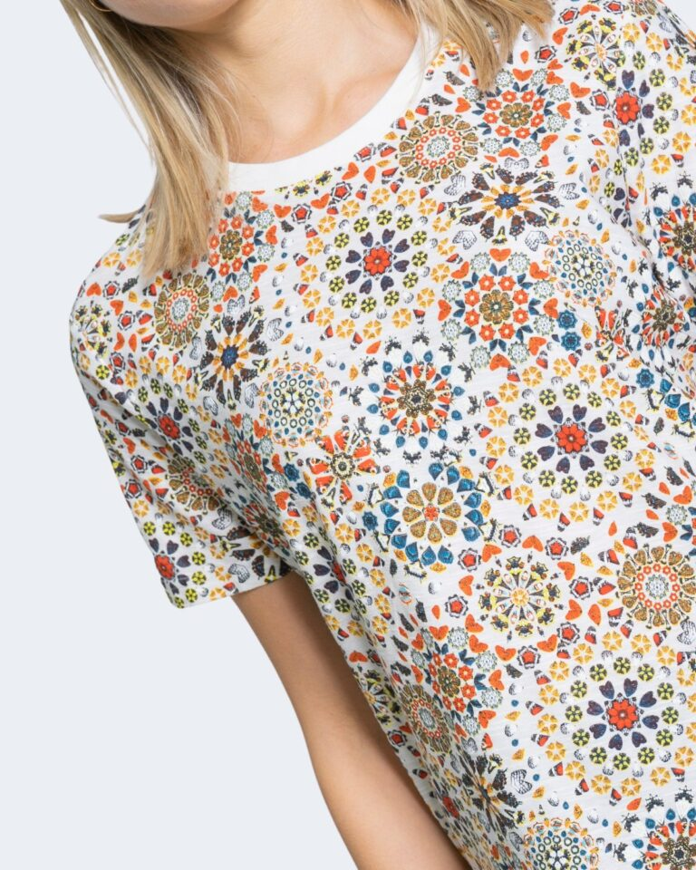 T-shirt Desigual LYON Bianco - Foto 3