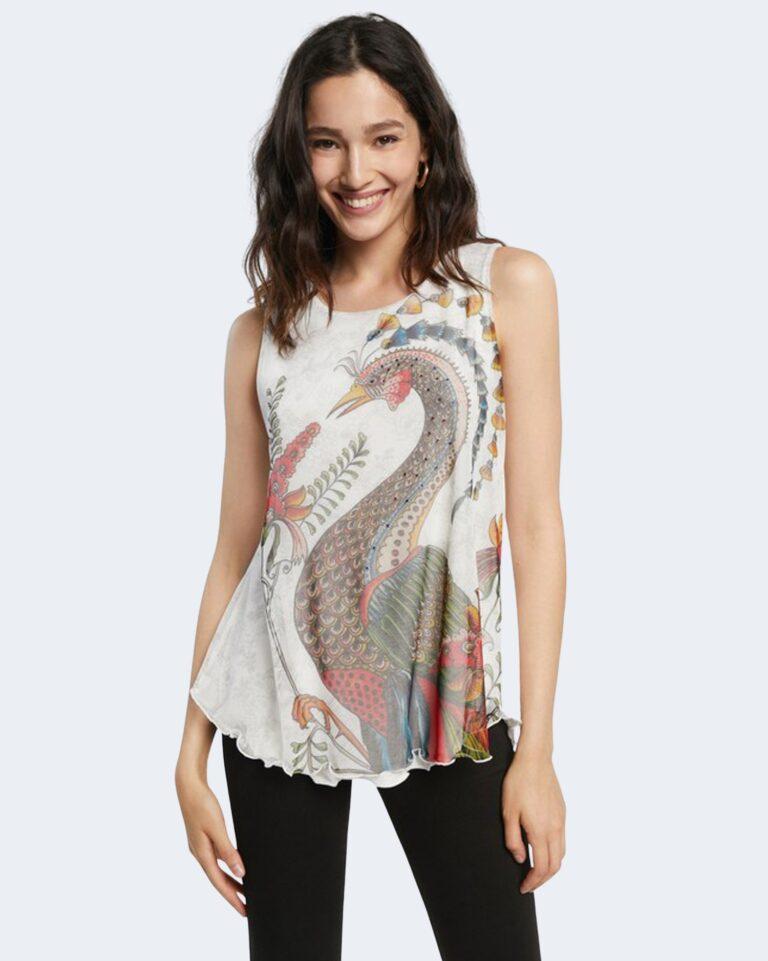 T-shirt Desigual MELISA Bianco - Foto 1