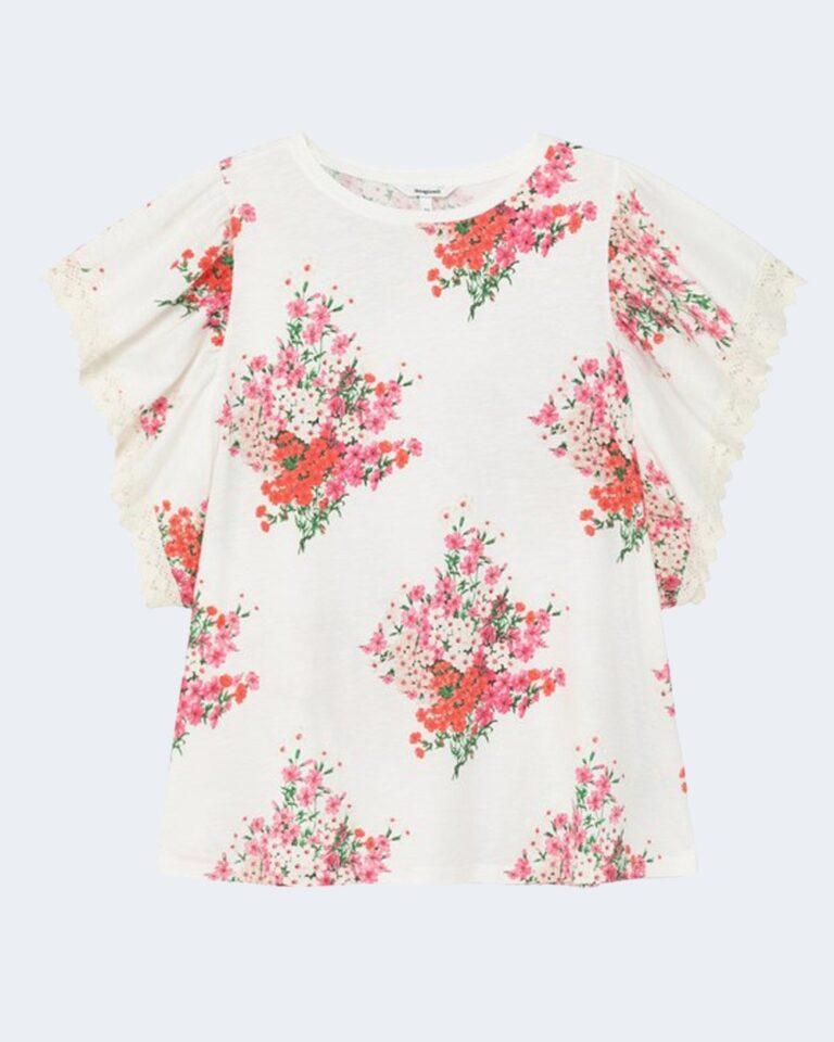 T-shirt Desigual MERY Bianco - Foto 2