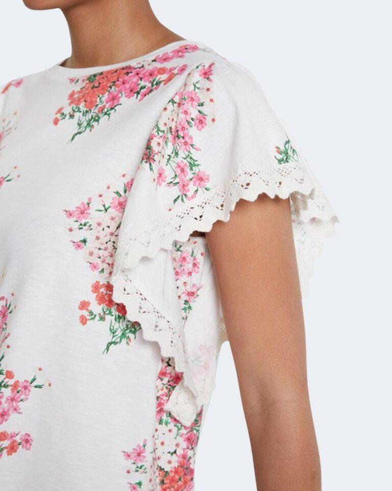 T-shirt Desigual MERY Bianco - Foto 3