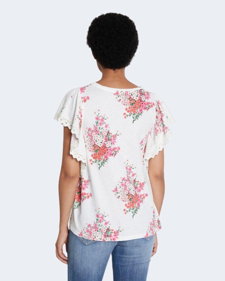 T-shirt Desigual MERY Bianco - Foto 4
