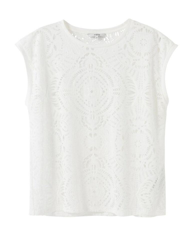 T-shirt Desigual NILO Bianco - Foto 4