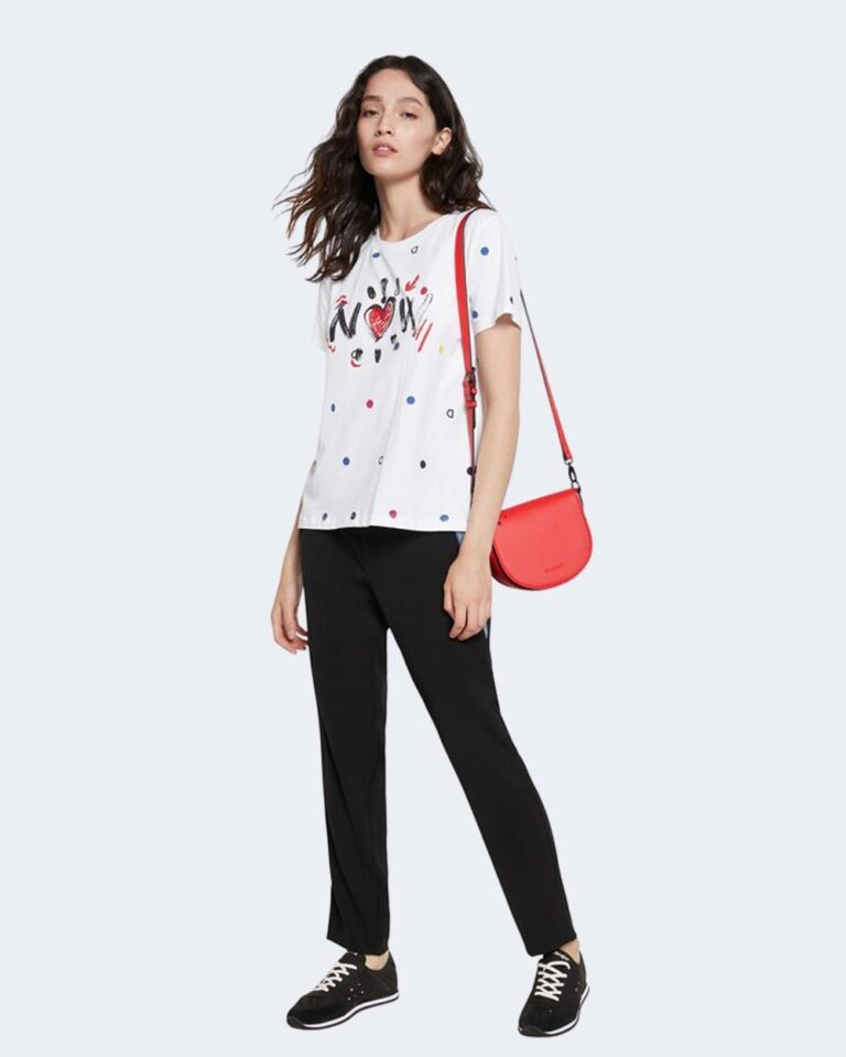 T-shirt Desigual NOW Bianco - Foto 1