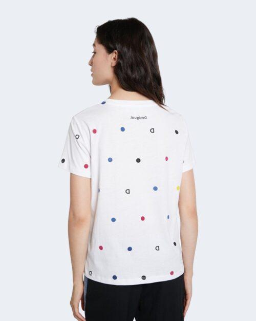 T-shirt Desigual NOW Bianco - Foto 3