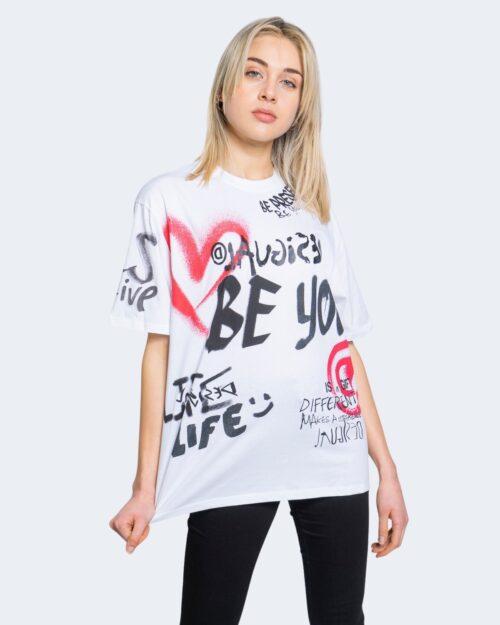 T-shirt Desigual TS OHIO Bianco - Foto 1