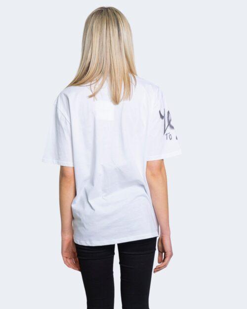 T-shirt Desigual TS OHIO Bianco - Foto 2
