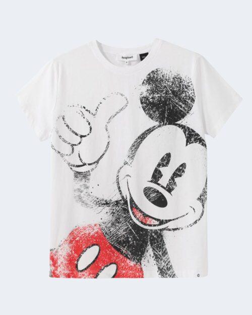 T-shirt Desigual MICKEY Bianco - Foto 1