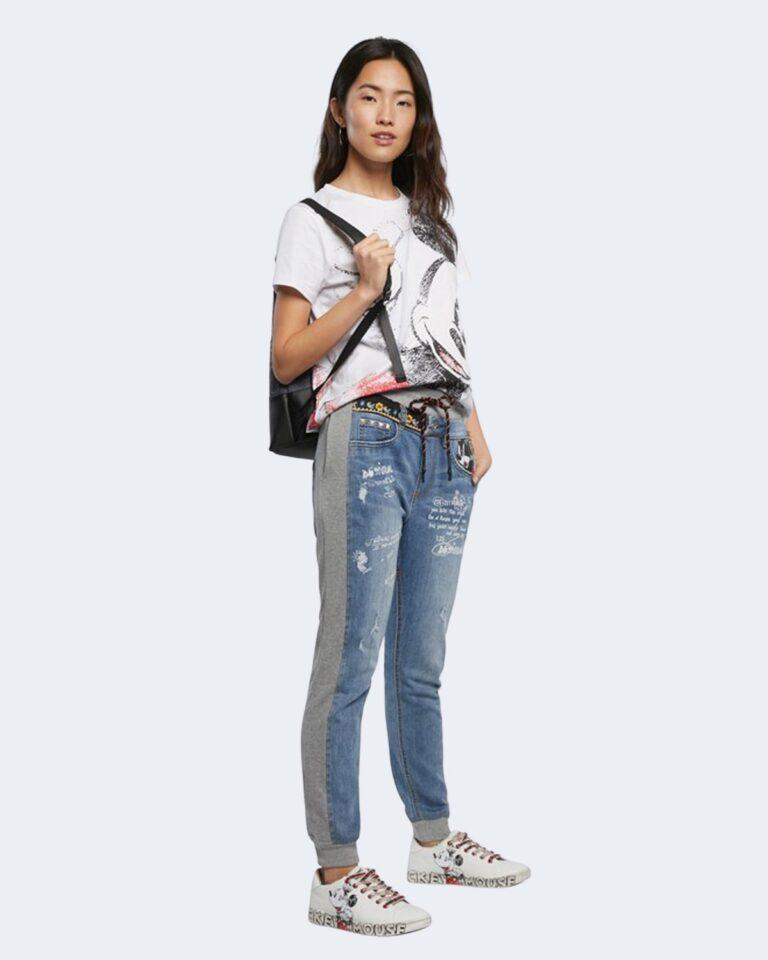T-shirt Desigual MICKEY Bianco - Foto 2