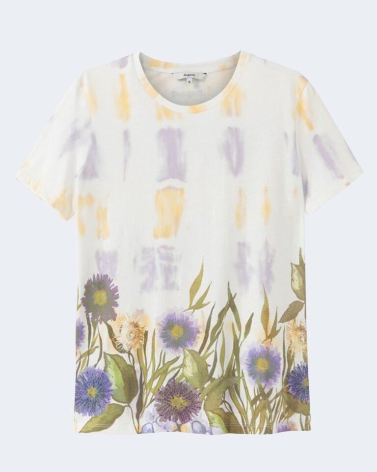 T-shirt Desigual OSLO Bianco - Foto 1