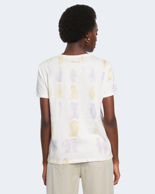 T-shirt Desigual OSLO Bianco - Foto 4