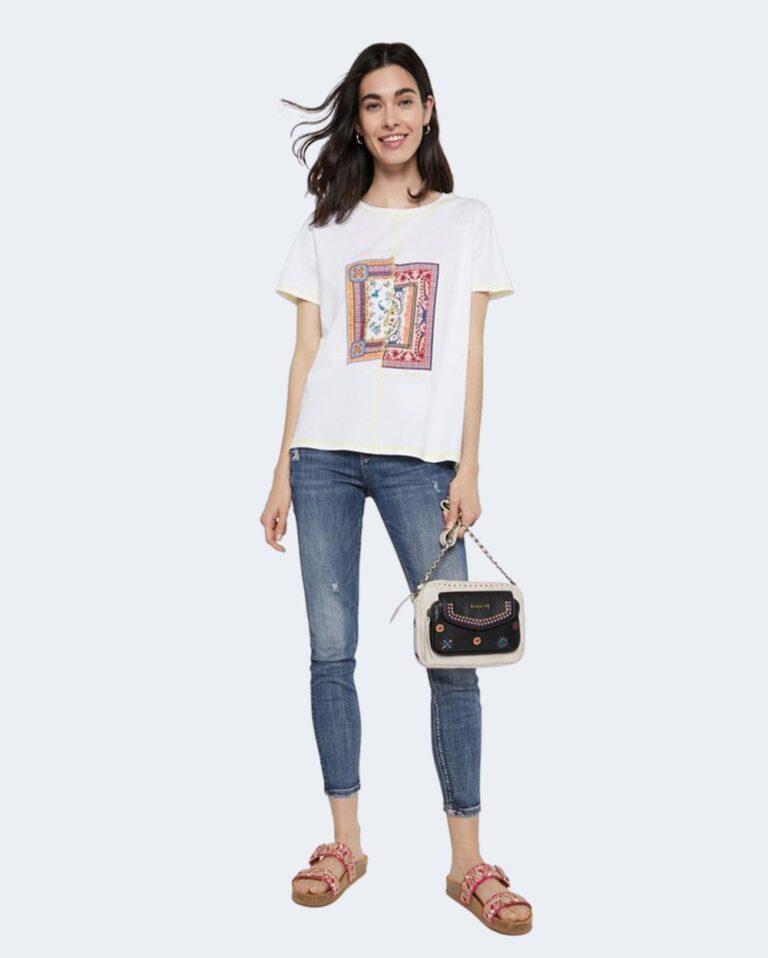 T-shirt Desigual VERONA Bianco - Foto 1