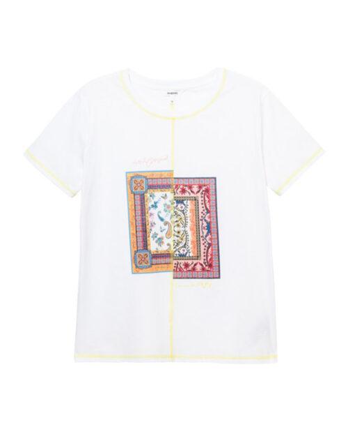 T-shirt Desigual VERONA Bianco – 65543