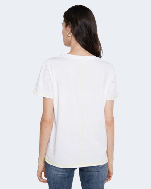 T-shirt Desigual VERONA Bianco - Foto 3