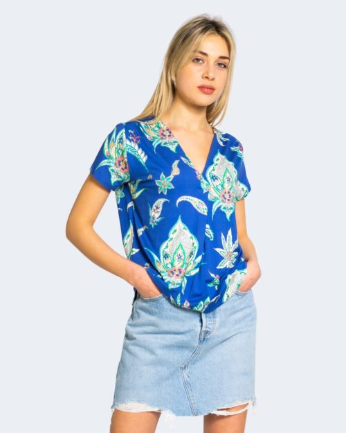 T-shirt Desigual LEMARK Blu - Foto 2