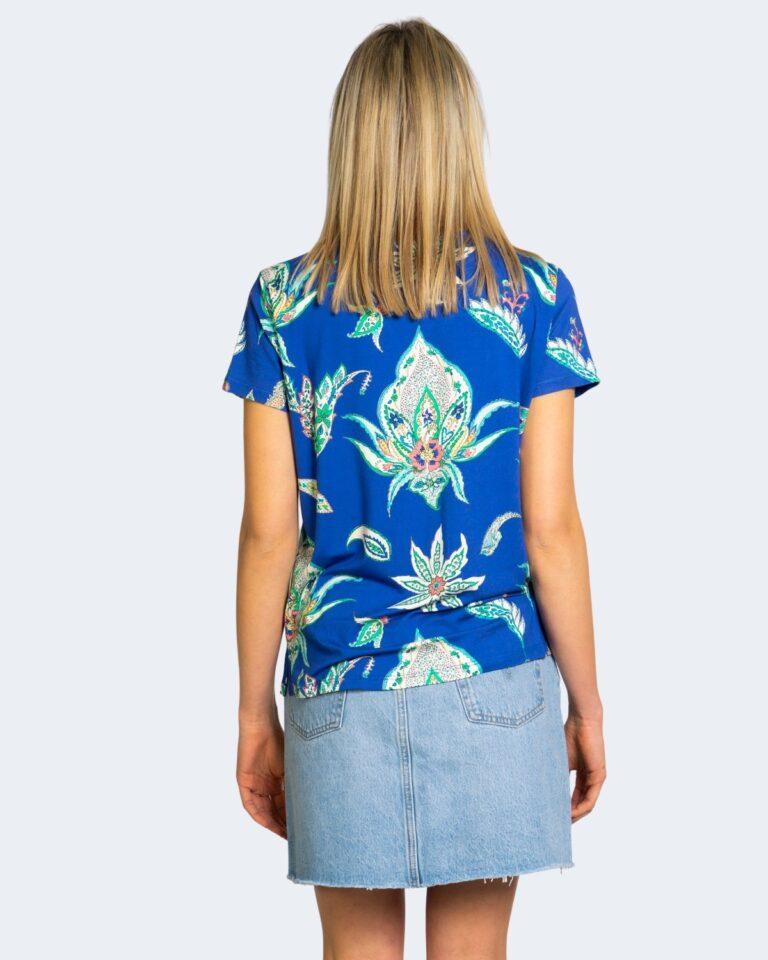 T-shirt Desigual LEMARK Blu - Foto 3