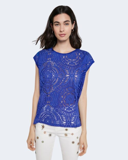 T-shirt Desigual NILO Blu - Foto 1