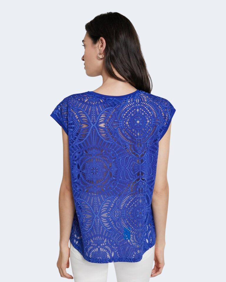 T-shirt Desigual NILO Blu - Foto 3