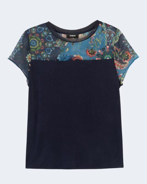T-shirt Desigual VIENA Blu - Foto 1