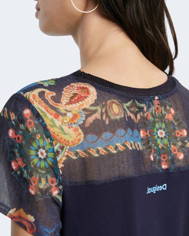 T-shirt Desigual VIENA Blu - Foto 3