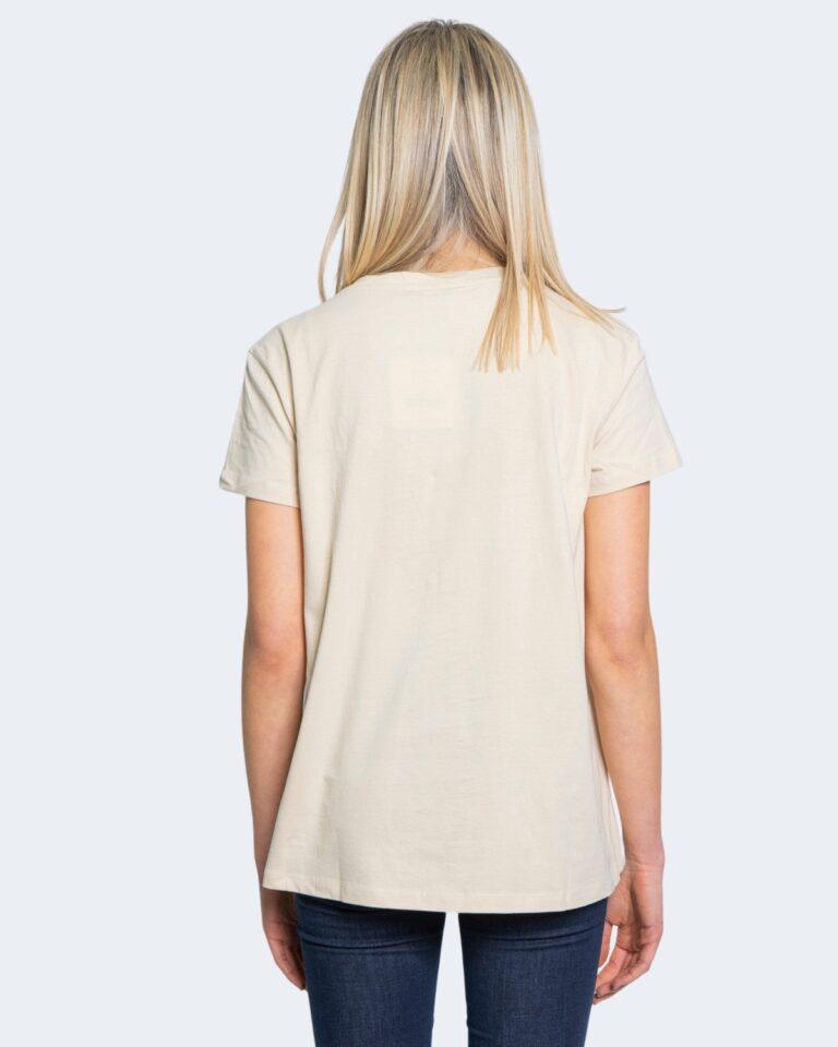 T-shirt Desigual TS RODAS Crema - Foto 2