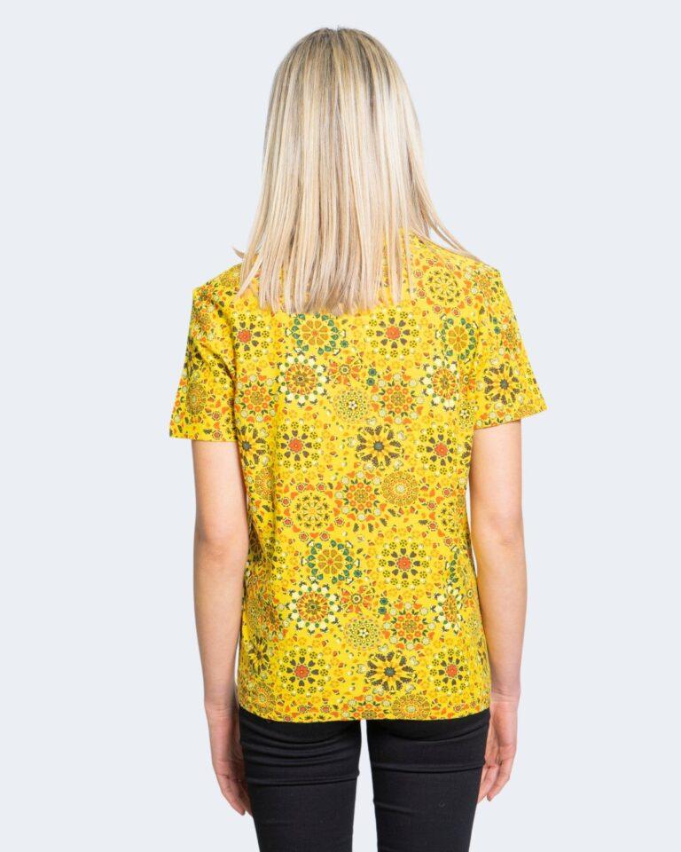 T-shirt Desigual LYON Giallo - Foto 2