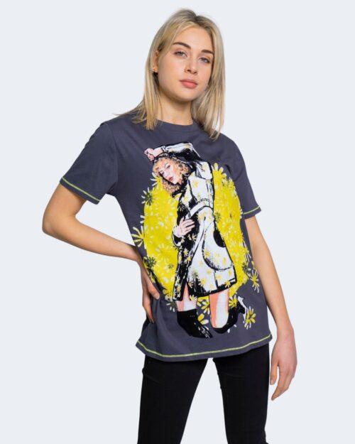 T-shirt Desigual TS SELLER Grigio Scuro – 61768