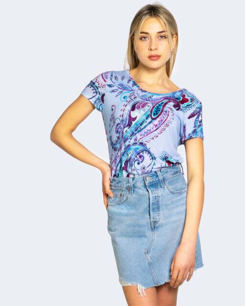 T-shirt Desigual MANDRAGORA Lilla - Foto 1
