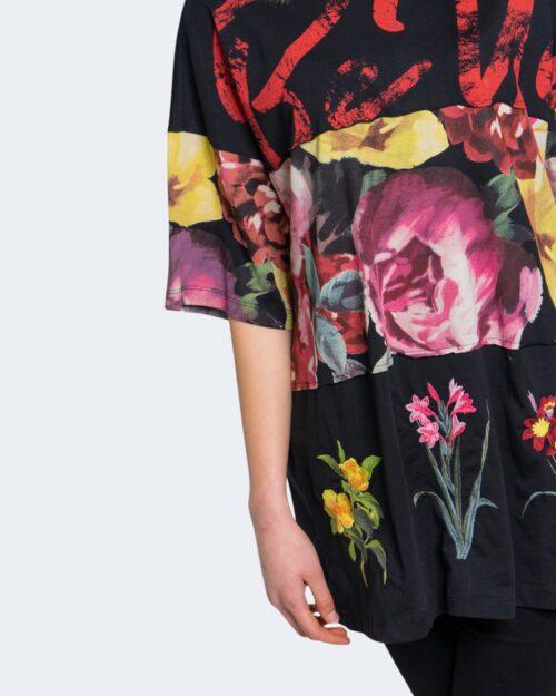 T-shirt Desigual TS BE U Nero - Foto 4