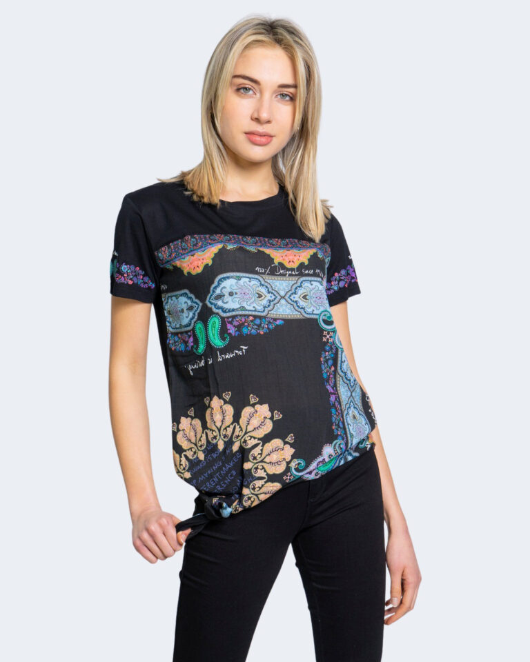 Desigual T-shirt TS DAKOTA 20WWTKA3 - 1