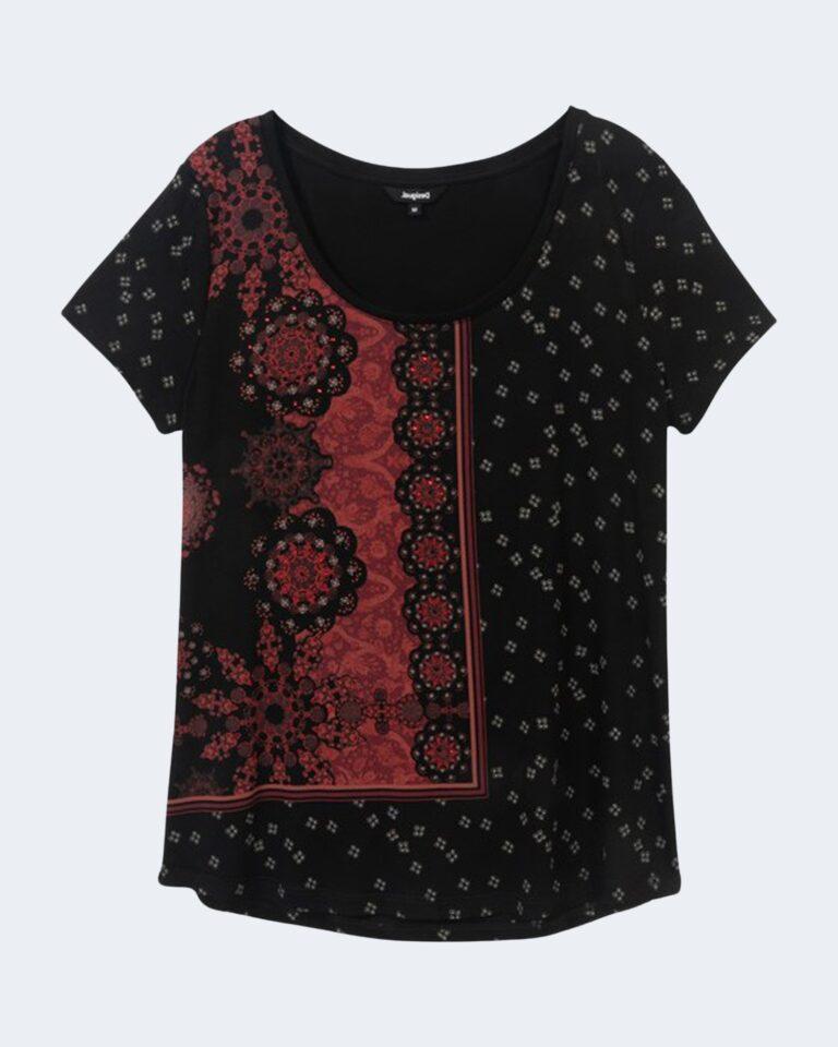 T-shirt Desigual ESTAMBUL Nero - Foto 2
