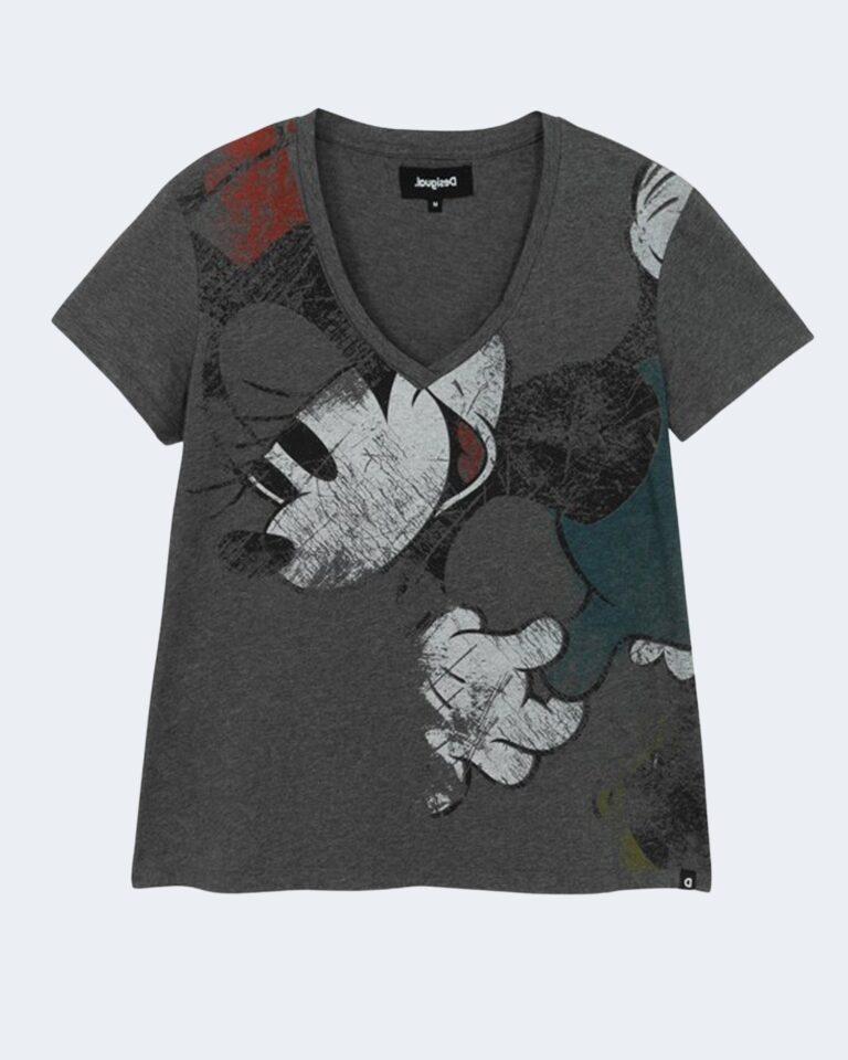 T-shirt Desigual MINNIE Nero - Foto 1