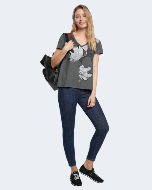 T-shirt Desigual MINNIE Nero - Foto 2