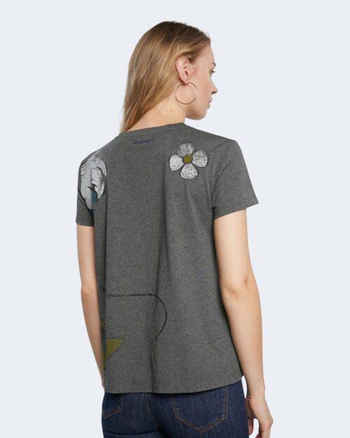T-shirt Desigual MINNIE Nero - Foto 4