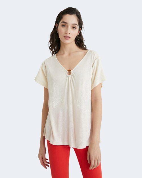 T-shirt Desigual ALBERTI Panna – 65515