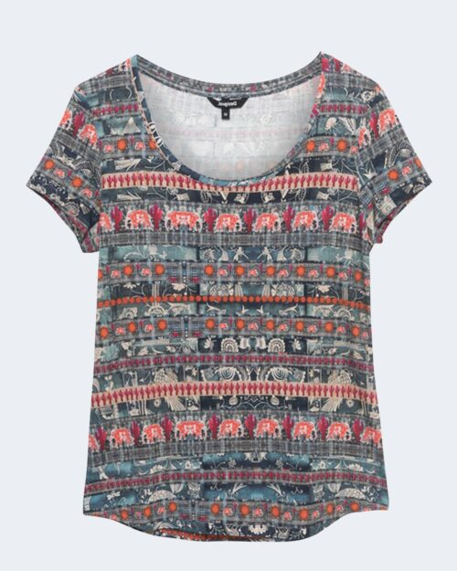 T-shirt Desigual SANTORINI Petrolio – 65534