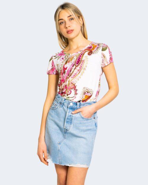 T-shirt Desigual MANDRAGORA Rosa - Foto 1