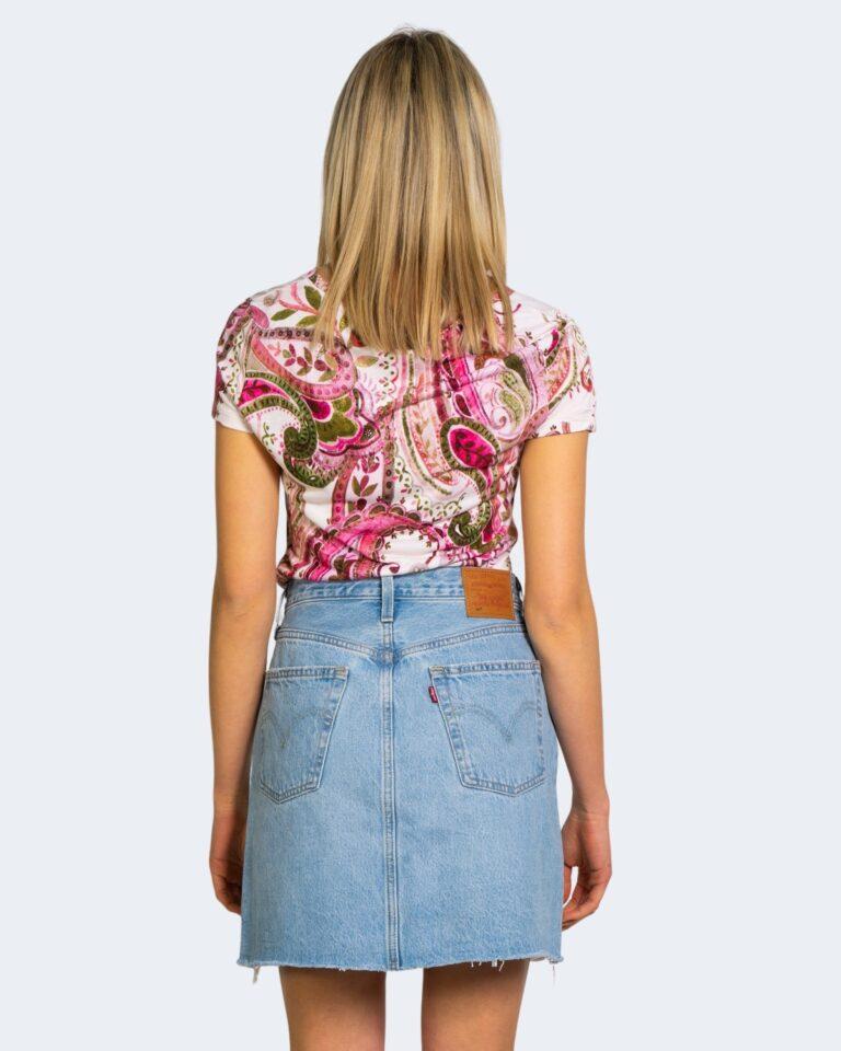T-shirt Desigual MANDRAGORA Rosa - Foto 2