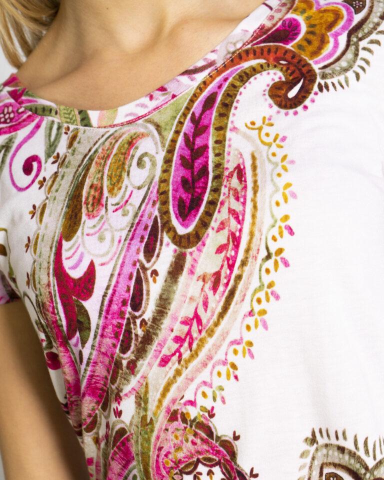 T-shirt Desigual MANDRAGORA Rosa - Foto 3