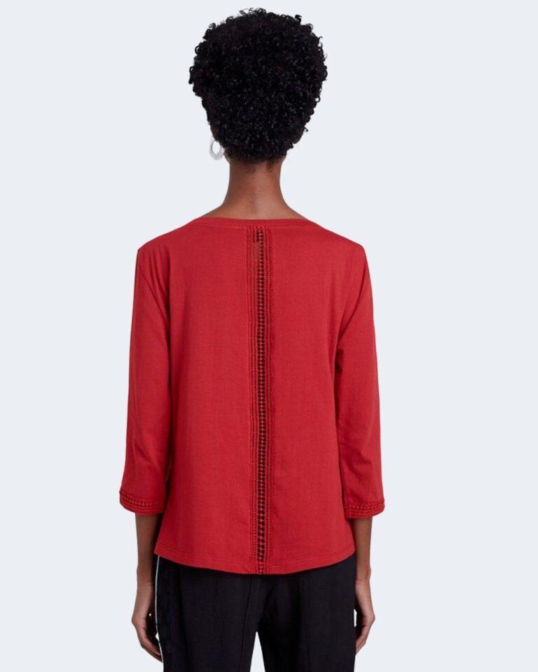 T-shirt Desigual Ts dublin Rosso - Foto 2