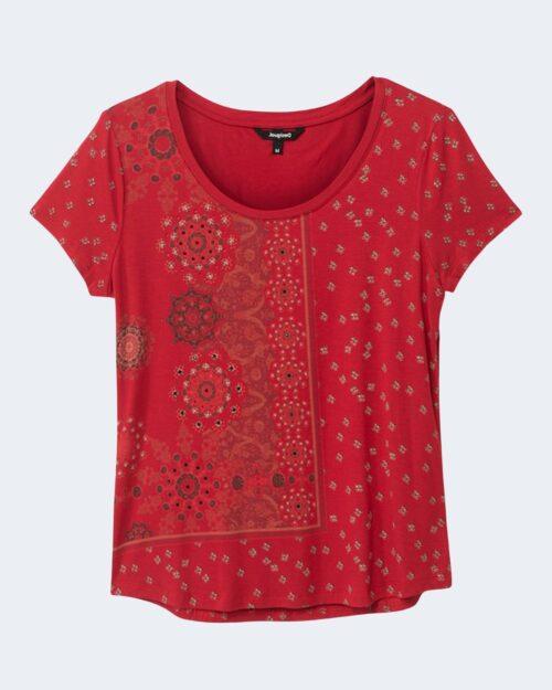 T-shirt Desigual ESTAMBUL Rosso - Foto 2