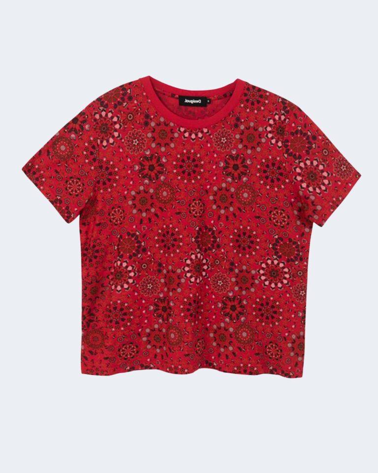 T-shirt Desigual LYON Rosso - Foto 1