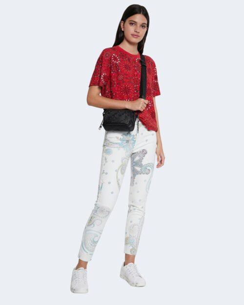 T-shirt Desigual LYON Rosso - Foto 2