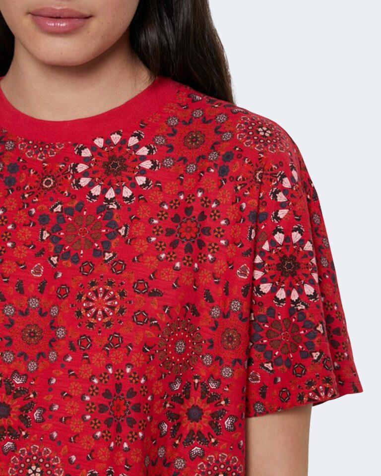 T-shirt Desigual LYON Rosso - Foto 3