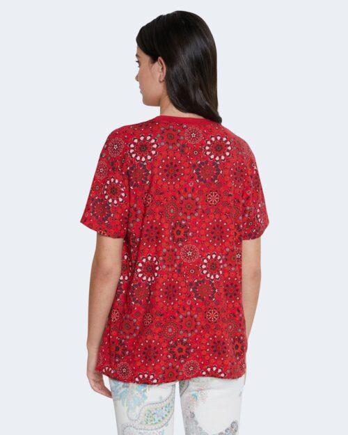 T-shirt Desigual LYON Rosso - Foto 4
