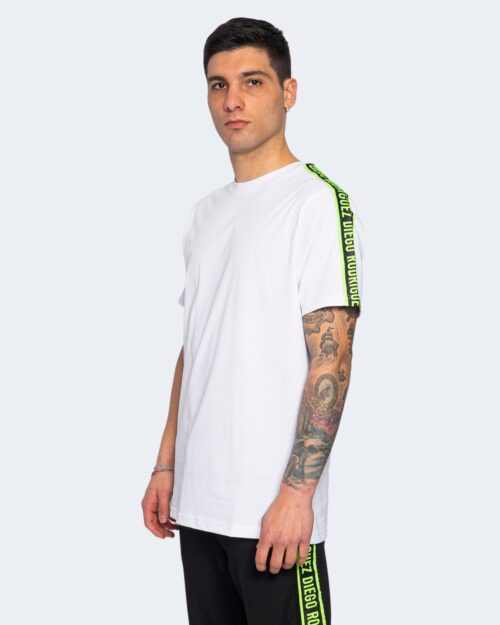 T-shirt Diego Rodriguez BANDA FLUO Giallo fluo - Foto 1