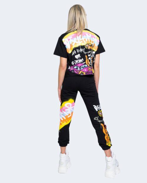 T-shirt Disclaimer 21EDS50642 Nero - Foto 3